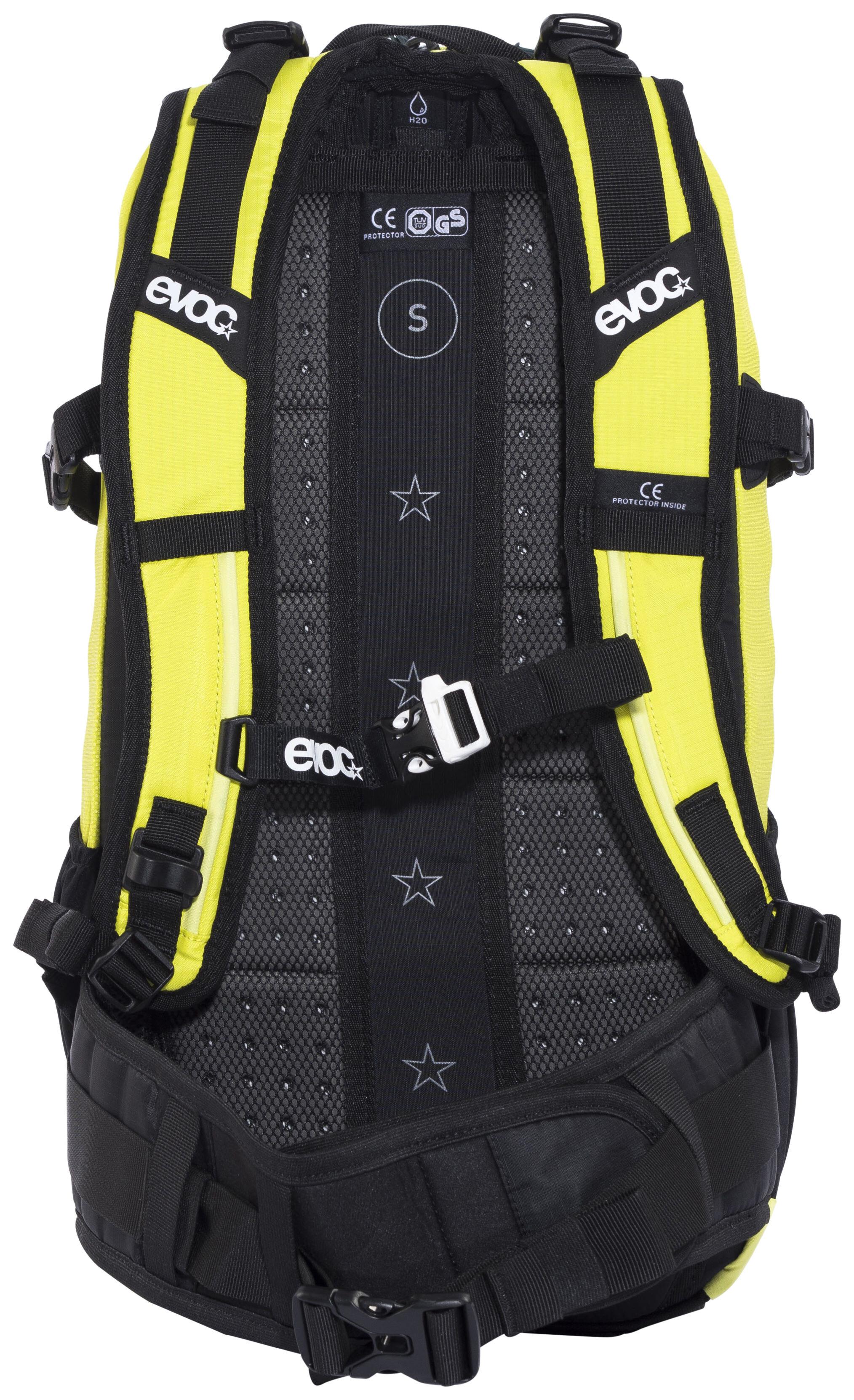 Evoc Fr Enduro Backpack 16 L Sulphur Yellow Campz Ch